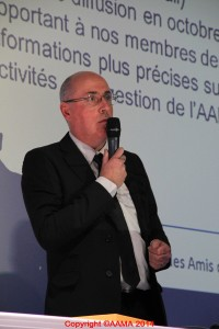 Fredéric Buczko, guide conférencier de l'AAMA
