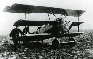 1405 Fokker triplan