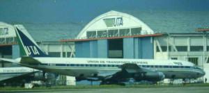 2014 DC-8 F-BIUZ 1963, la T.A.I = U.A.T Le Bourget
