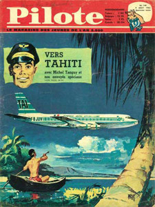 2014 Extrait du journal Pilote n°164 du 9 août 1962