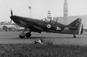 2014 Le D 520 remis en état de vol, au roulage au Bourget 1980