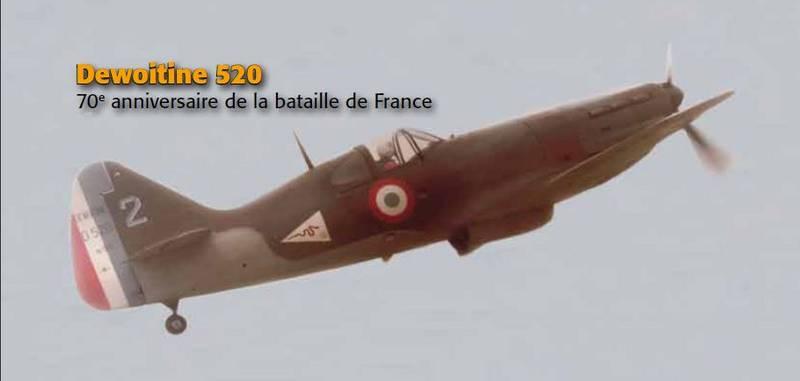 2014 Le Dewoitine 520_70 anniversaire