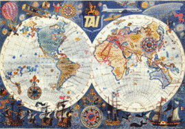 2014 cartes du Monde la T.A.I