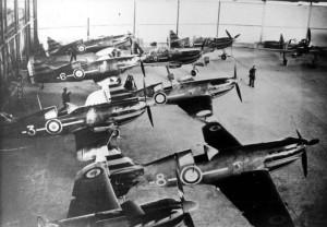 2014 hangar de la 1° escadrille du GC 1-2
