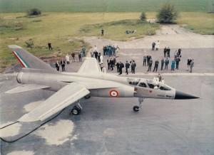 2014 Mirage G présenté à la presse, à Villaroche