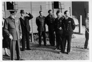 2014 Winston Churchill avec le groupe Ile de France en 1941
