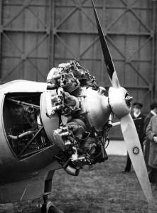 2014 moteur9B installé sur le Potez53
