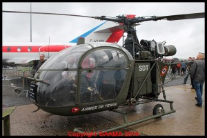 Alouette II de l'ALAT.