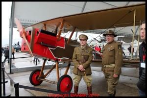 Un SE5 avec des pilotes de la RAF.
