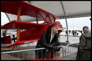 Le Baron Rouge et son Fokker Triplan.