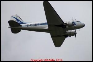 DC3 bien connu au Musée de l'Air.
