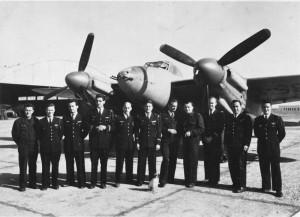 Le groupe I/3 Corse sur Mosquito en février 1946 (SHD Air)