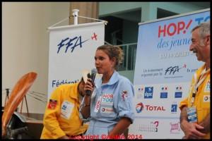 Pauline Loiseaux est la miss HOP ! Tour.