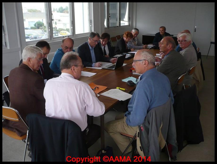 141016 Conseil de l'AAMA 16 10 2014