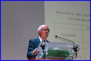 Pierre Brémard, coordinateur des guides et bénévoles