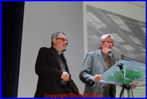 Christian Tillati et Jacques Suspène nous parlent du hall de la Cocarde