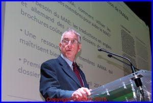 Il a lancé le groupe des traducteurs, Dominique Abadie