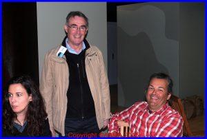 Alain Rolland, notre Secrétaire Général, et Pierre Varnet, le directeur des vols