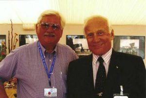 Astronaute « Buzz » ALDRIN 15 Juin 2005 , en compagnie de l'auteur de cet article Juin 2015