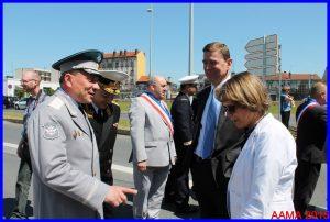 Le Vice-ministre Iouri Borissov chaleureusement accueilli par Catherine Maunoury et le général Abrial