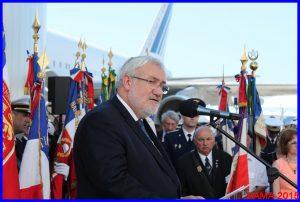 Le Secrétaire d'Etat aux Anciens Combattants, Jean-Marc Todeschini