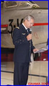 Le Chef d'Etat-major de l'Armée de l'Air, le général Denis Mercier
