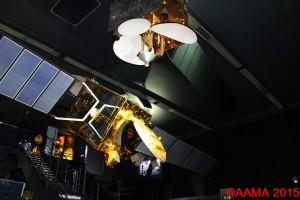 Maquettes Communication : Arabsat, Télécom 1A – 2A