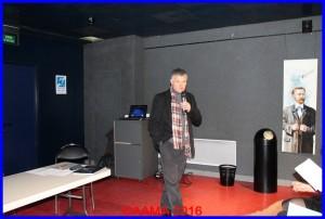 Notre coordinateur des guides François Vergne