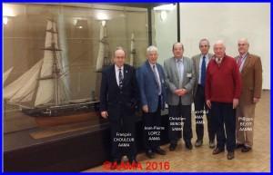 Réunion avec la SAMA et l'AAMM au Musée de la Marine