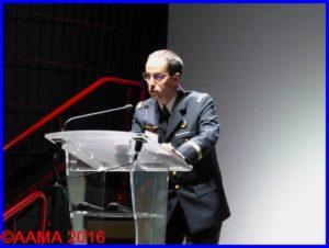 Le capitaine Sylvain Champonnois, membre de l'AAMA