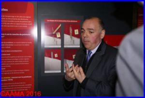 Laurent Rabier, commissaire de l'exposition