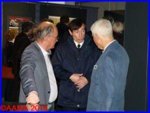 De gauche à droite : Pierre Gain, Alain Genter et Jean-Pierre Lopez