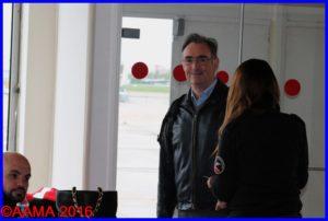 Alain Rolland très heureux de s'être une nouvelle posé au Bourget
