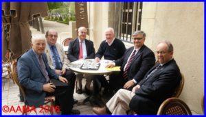 La fin de la réunion entre l'AAMM, la SAMA et l'AAMA