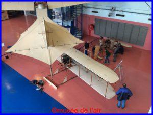 Le Wright BB en cours de démontage