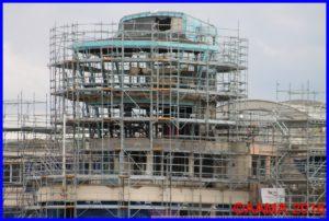 La tour de contrôle en pleine rénovation
