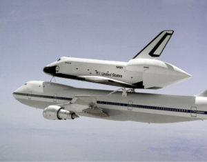 Enterprise, OV-101, Boeing 747 SCA