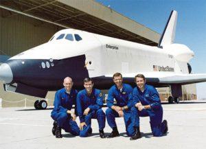 OV-101, Enterprise, pilotes, Charles Fullerton, Fred Haise, Joseph Engle, Richard Truly