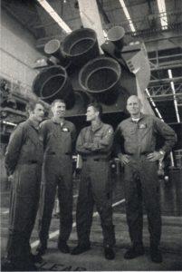 Pilote de Enterprise, Richard Truly, Joseph Engle, Fred Haise, Charles Fullerton