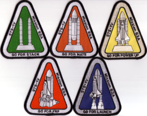 patchs, mission, STS-62A
