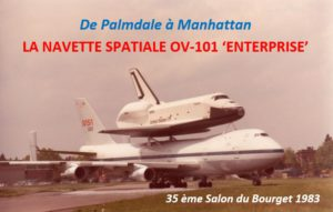 Enterprise, OV-101, Boeing 747 SCA, Salon du Bourget 1983