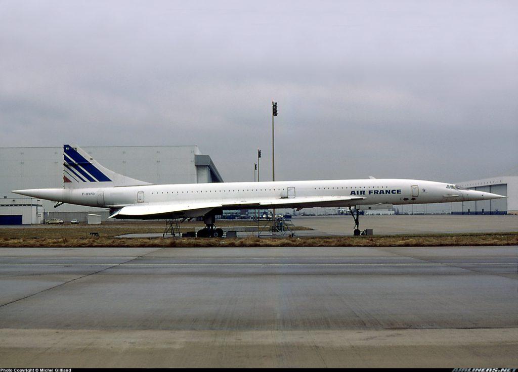 Concorde F-BVFD, Roissy-CDG 21-03-1985