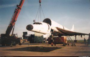 Concorde, F-BVFD SN211, CDG, démantèlement,1994-12-13