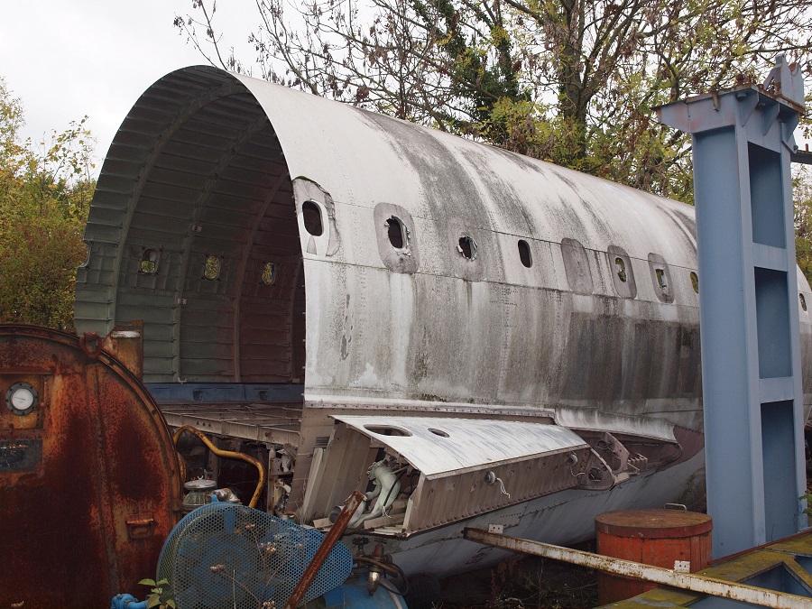 Concorde, FD, Dugny, fuselage